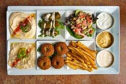 Paymon's famous Vegetarian Platter