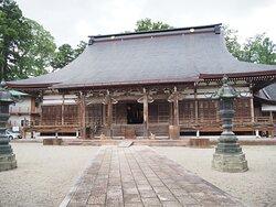 江戸中期建立の本堂