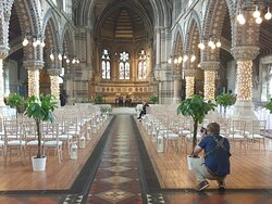 Wedding catering at St. Stephen's Trust, London