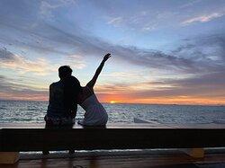 from sunset bar Saffron Affair