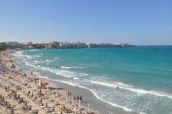Domina la spiaggia stupenda