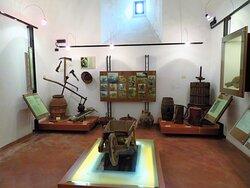 Esposizioni del museo della Civiltà Contadina