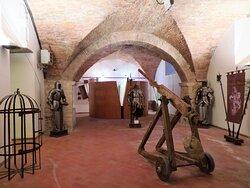 Sala espositiva del museo Bartolomeo d'Alviano e i Capitani di Ventura Umbri