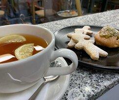 House Tea, Cookies and Bigné