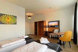 Twin-Zimmer mit getrennten Betten