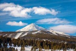 Hotel View - Lone Peak Mountain
