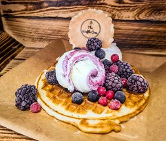 Berry Delight Waffle