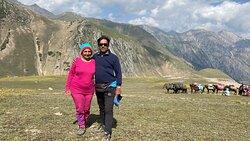 Amazing Kashmir with amazing lone tariq