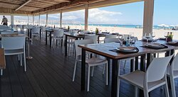 Belle table sur la playa San Juan