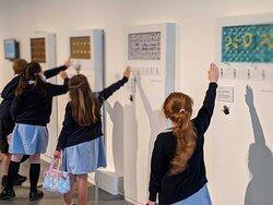 School visits at the Hub