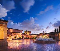 Resort Entrance Nighttime