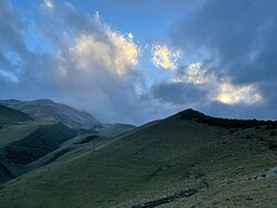 Up in the Caucasus mountains