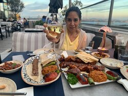 Espectacular view and amazing food!