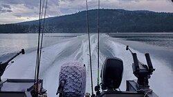Whitefish lake fishing adventure