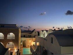 Anthea Villas at night