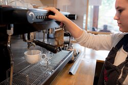 Come in and enjoy your coffee!