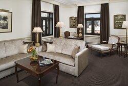 EGran Melia Fenix Onebedroom Suite Living Room B