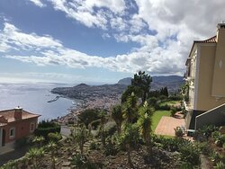 Lovely views of Funchal;