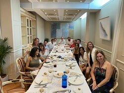 Fiesta privada en el salón Adarraga