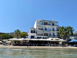 View of Niko's from the water