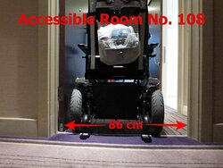 Accessible Room No. 108