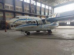 NAU Aviation Training Hangar - L-410, Yak-42