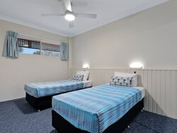 Two Bedroom Apartment twin single bedroom