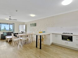 King Two Bedroom Apartment Kitchen