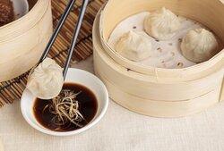 Steamed Shanghai Pork Dumpling Xiao Long Bao