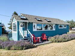 hideaway cottage with lavender
