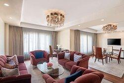 Presidential Suite-Living Room-WiFi