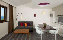 One Bedroom Apartment Dining Area