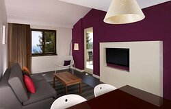 One Bedroom Apartment Living Room