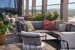 Skybar terrace
