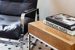 Premium Room Books on Coffee Table