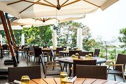 Le Feu deu Saveurs Restaurant Outdoor Tables