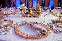 Mezopotamya Ballroom Banquet Masa Detay