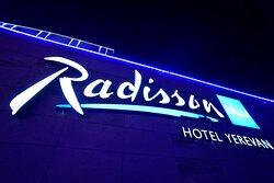 Radisson BLU Yerevan sign
