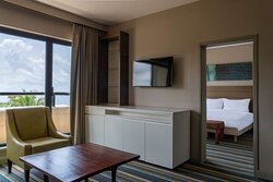 Suite with separate living room