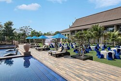 Pool Side Lawn