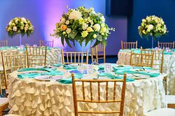 ABC Ballroom with wedding setup
