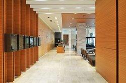 Lobby View from Elevator Hallway