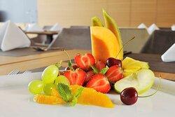 Restaurant Breakfast Fruits