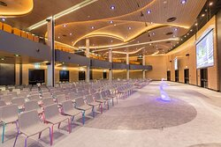 Ballroom 'Pearl' - neutral lighting