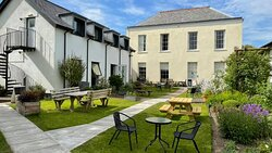 Our beautiful, tranquil gardens, hidden in the courtyard