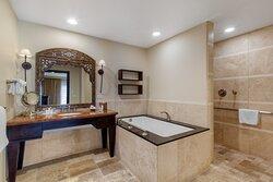 King Suite ADA Bathroom Camelback View