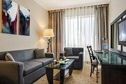 Club Rotana Suite Living Room