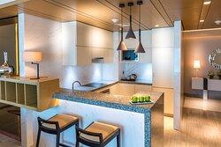 Premium One Bedroom Apartment Kitchen