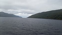 Turning point of the cruise, view looking towards Inverness