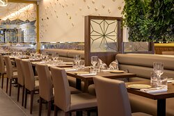 Our main dining room can cater for large parties just as easy as an intimate table for 2